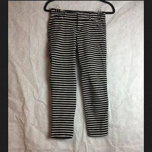 Old Navy Pixie Skinny Striped Pants sz 2 Regular